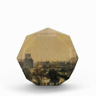 Camille Pissarro- Garden of the Louvre Snow Effect Acrylic Award