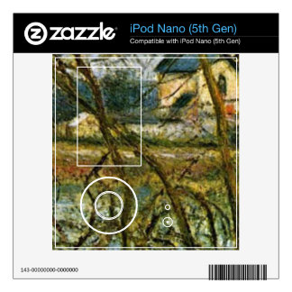 Camille Pissarro - Grey day on the banks of the Oi Skin For iPod Nano 5G