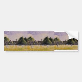 Camille Pissarro- Hampton Court Green Car Bumper Sticker