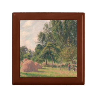 Camille Pissarro - Haystacks, Morning, Eragny Gift Box