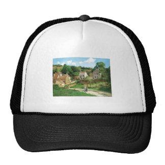 Camille Pissarro - Hermitage Pontoise 1867 Oil Trucker Hat