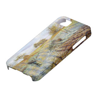 Camille Pissarro- Hoarfrost iPhone 5 Cases