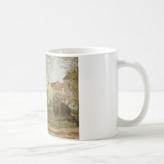 Camille Pissarro - Houses at Bougival Coffee Mug