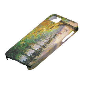 Camille Pissarro- Hyde Park, London iPhone 5 Covers