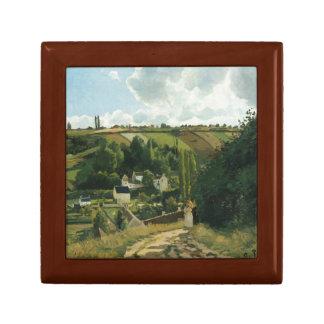 Camille Pissarro - Jalais Hill, Pontoise Jewelry Box