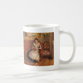 Camille Pissarro- Jeanne Reading Coffee Mug