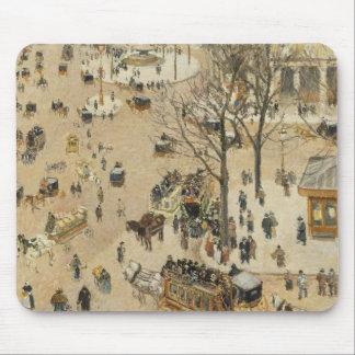 Camille Pissarro - La Place due Theatre Francais Mouse Pad