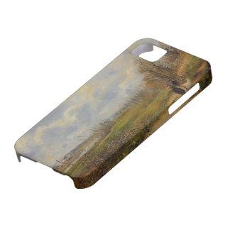 Camille Pissarro- La Sente du Chou, near Pontoise iPhone 5 Cases
