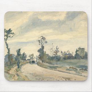 Camille Pissarro - Louveciennes Mouse Pad