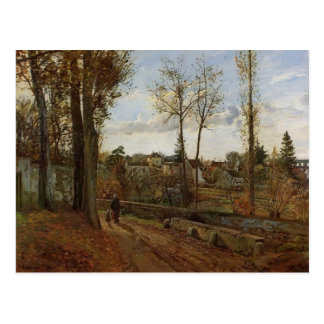 Camille Pissarro- Louveciennes Postcard