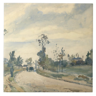 Camille Pissarro - Louveciennes Tile