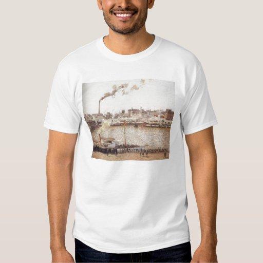 Camille Pissarro - Morning Winter Sun Frost  1901 T-Shirt