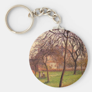 Camille Pissarro- Mother Lucien s Field at Eragny Key Chain
