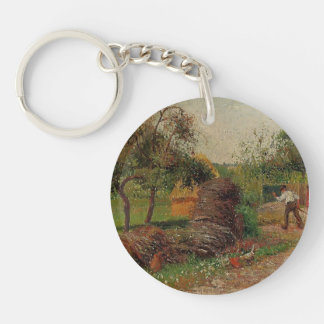 Camille Pissarro- Mother Lucien's Yard Key Chains