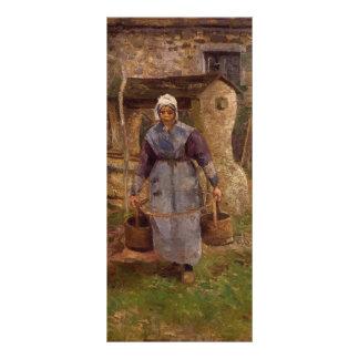 Camille Pissarro- Mother Presle Montfoucault Custom Rack Card