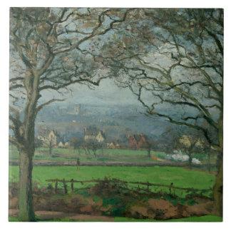 Camille Pissarro - Near Sydenham Hill Ceramic Tile