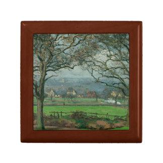 Camille Pissarro - Near Sydenham Hill Jewelry Box