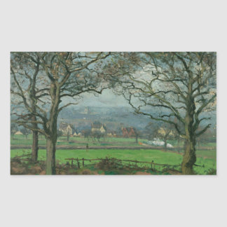 Camille Pissarro - Near Sydenham Hill Rectangular Sticker
