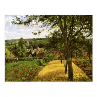 Camille Pissarro- Orchards at Louveciennes Postcard