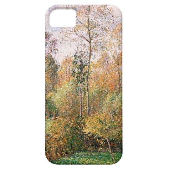 Camille Pissarro - otoño, álamos, Eragny Funda Para iPhone SE/5/5s