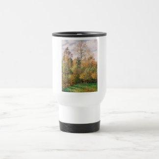 Camille Pissarro - otoño, álamos, Eragny Taza De Viaje De Acero Inoxidable