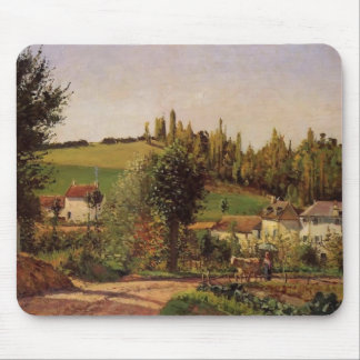Camille Pissarro- Path of Hermitage at Pontoise Mouse Pad