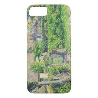 Camille Pissarro - Peasants' houses, Eragny iPhone 7 Case