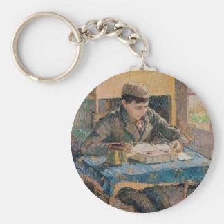 Camille Pissarro- Portrait of Rodo Reading Key Chains