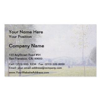 Camille Pissarro- Primrose Hill, Regent's Park Business Card