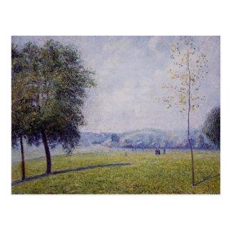 Camille Pissarro- Primrose Hill, Regent's Park Postcard