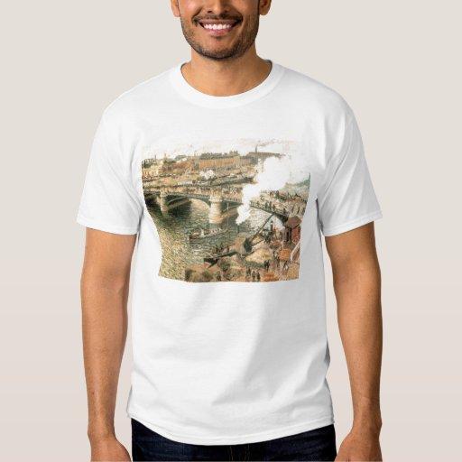 Camille Pissarro - puente lluvioso 1896 del río de Playeras