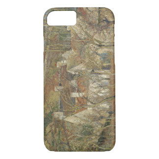 Camille Pissarro - Red Roofs, Corner of a Village iPhone 7 Case