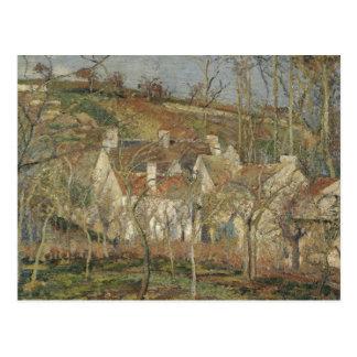 Camille Pissarro - Red Roofs, Corner of a Village Postcard
