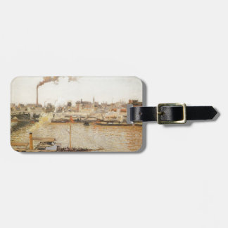 Camille Pissarro- Rouen, Saint Sever Morning Luggage Tag