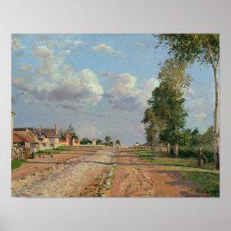 Camille Pissarro - Route de Versailles Poster