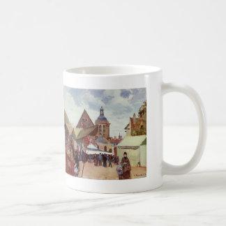 Camille Pissarro- September Fete, Pontoise Coffee Mug