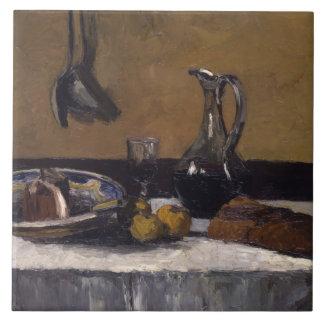 Camille Pissarro - Still Life Ceramic Tile