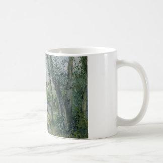 Camille Pissarro - Sunlight on the Road, Pontoise Coffee Mug