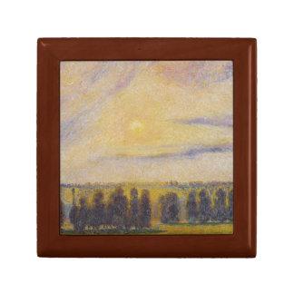 Camille Pissarro - Sunset at Eragny Gift Box