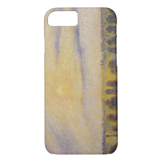 Camille Pissarro - Sunset at Eragny iPhone 7 Case