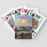 Camille Pissarro- Sunset, Rouen Card Decks
