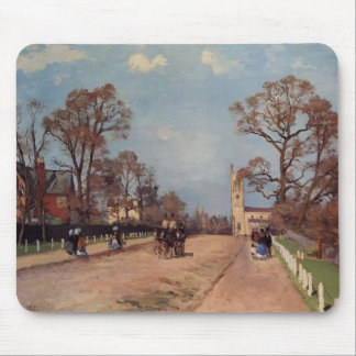 Camille Pissarro- The Avenue, Sydenham Mouse Pad