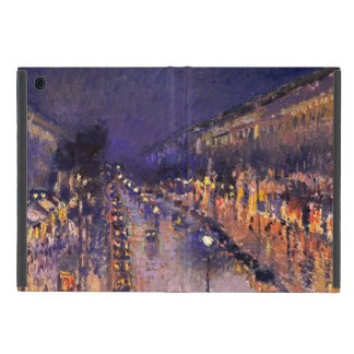 Camille Pissarro The Boulevard Montmartre At Night Cases For iPad Mini