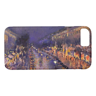 Camille Pissarro The Boulevard Montmartre At Night iPhone 7 Case