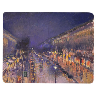 Camille Pissarro The Boulevard Montmartre At Night Journal