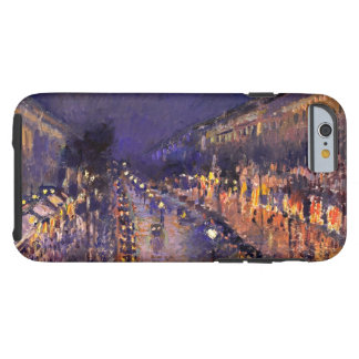 Camille Pissarro The Boulevard Montmartre At Night Tough iPhone 6 Case