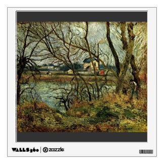 Camille Pissarro- The Climbing Path l Hermitage Wall Decals