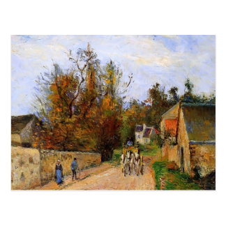 Camille Pissarro- The diligence Post Cards
