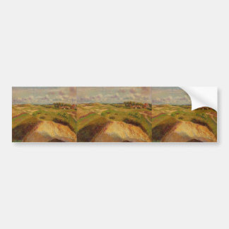 Camille Pissarro- The Dunes at Knocke, Belgium Bumper Sticker