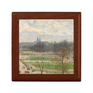 Camille Pissarro - The Garden of the Tuileries Keepsake Box